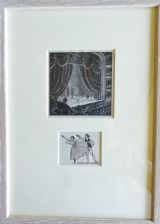 Grand Ballet & Dancers (2 prints in 1 frame)